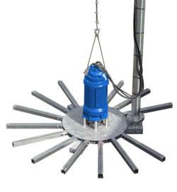 De Entec dompelbeluchters zijn zeer geschikt voor zowel mengen als beluchten. Flexibel in te zetten en een externe compressor is niet langer nodig.