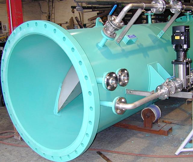 ENTEC® GDS: Statisch Gas Dispersie Systeem. Voor drinkwater- , afvalwater- en procesindustrie.