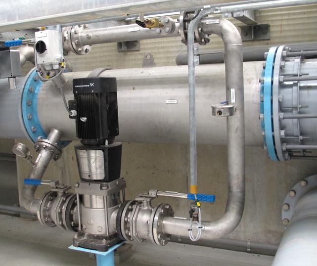 ENTEC® ODS: Statisch Ozon Dispersie Systeem. Voor drinkwater- , afvalwater- en procesindustrie.
